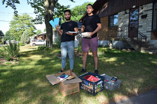 Students bring new life to used books