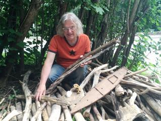 Land Art Hudson 2017 an artistic response to an act of nature