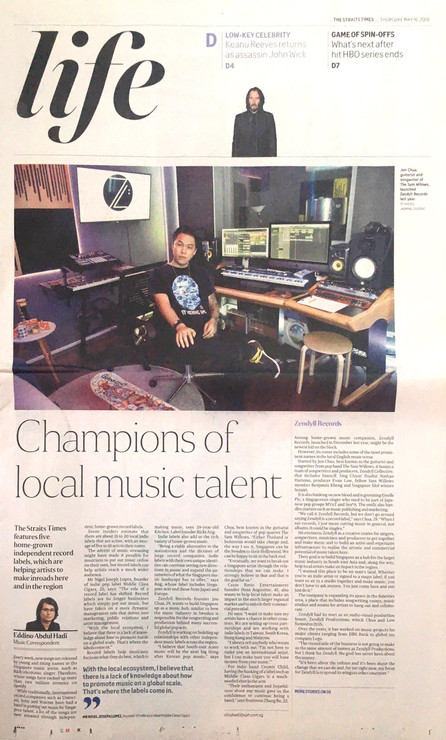 The Straits Times | May 2019