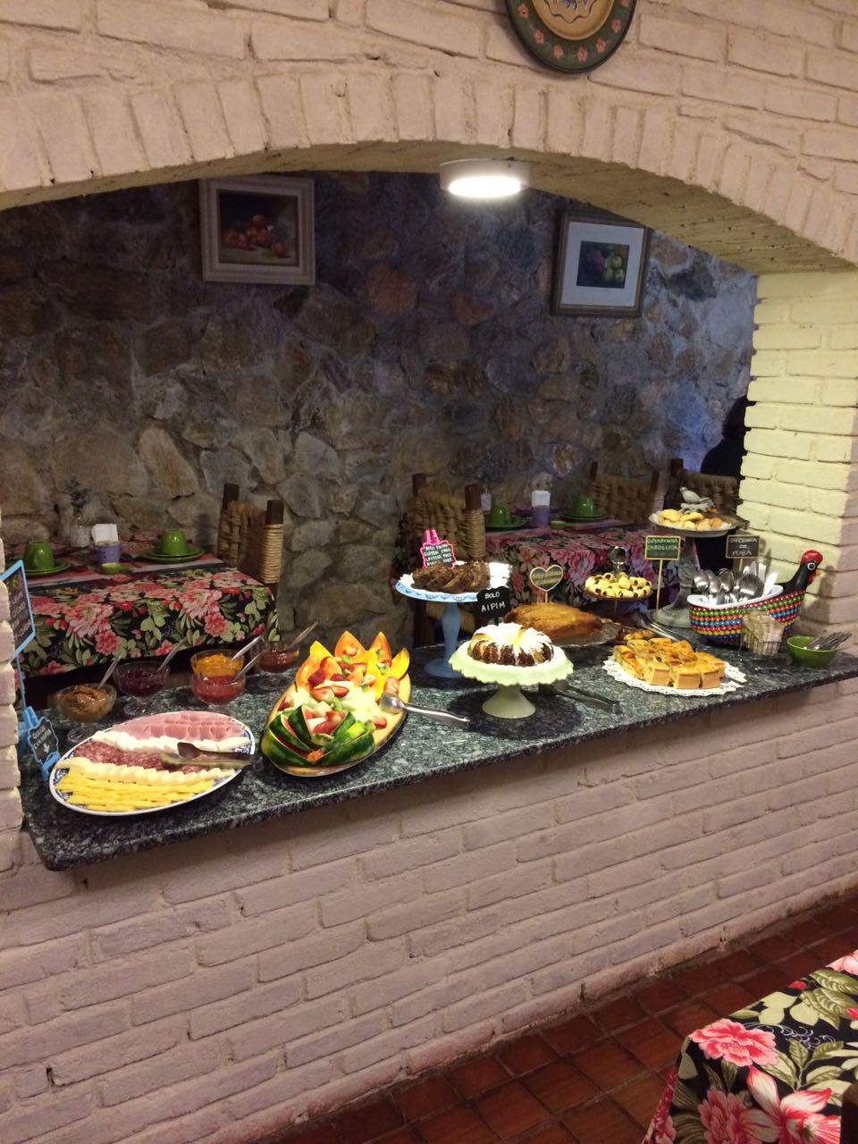 Salão do Café da Manhã Colonial