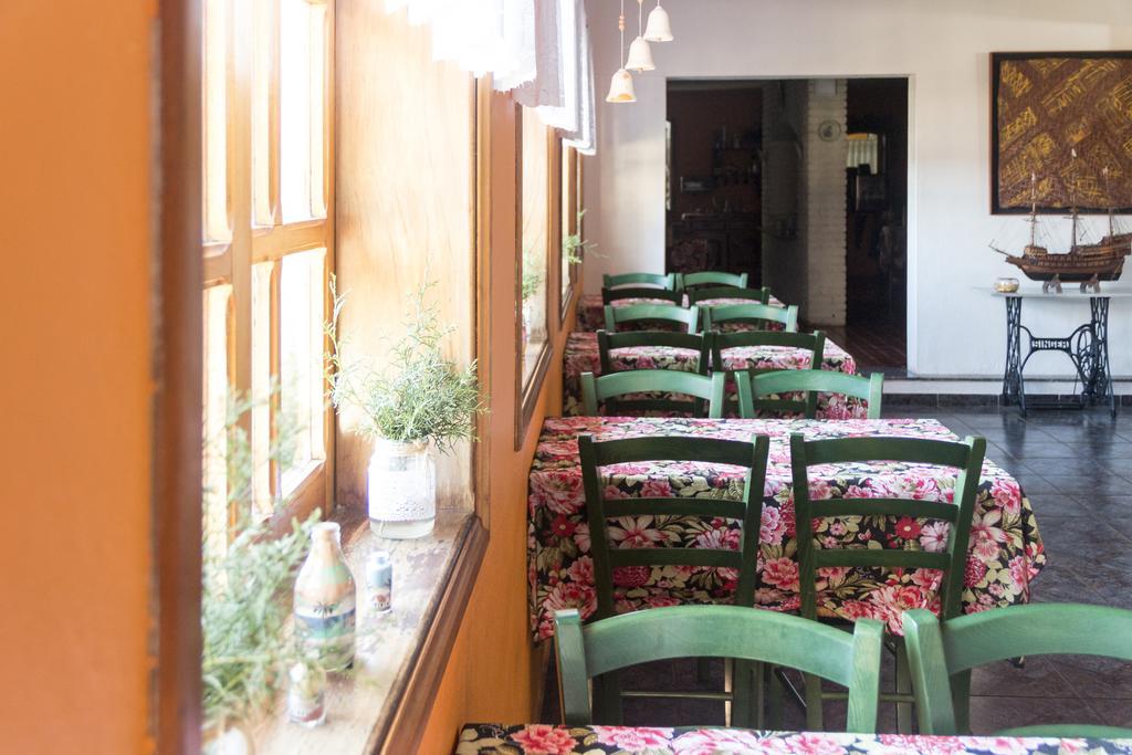 Salão do café da manhã da Pousada