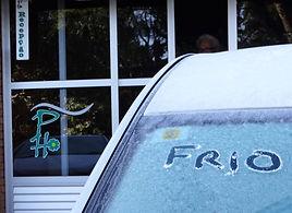Menos -5 graus na Pousada das Hortênsias em Monte Verde MG
