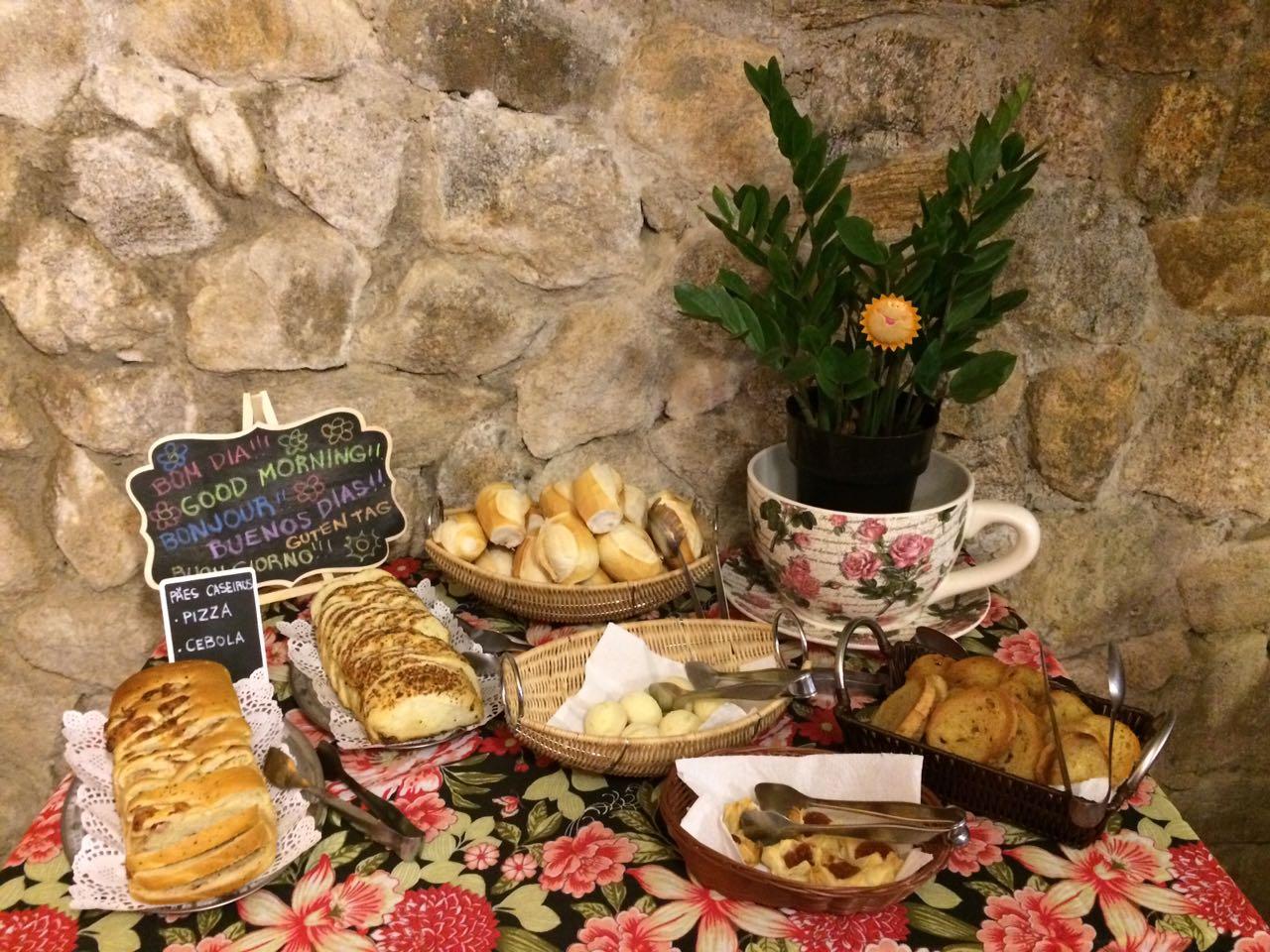 O melhor Café da Manhã Colonial