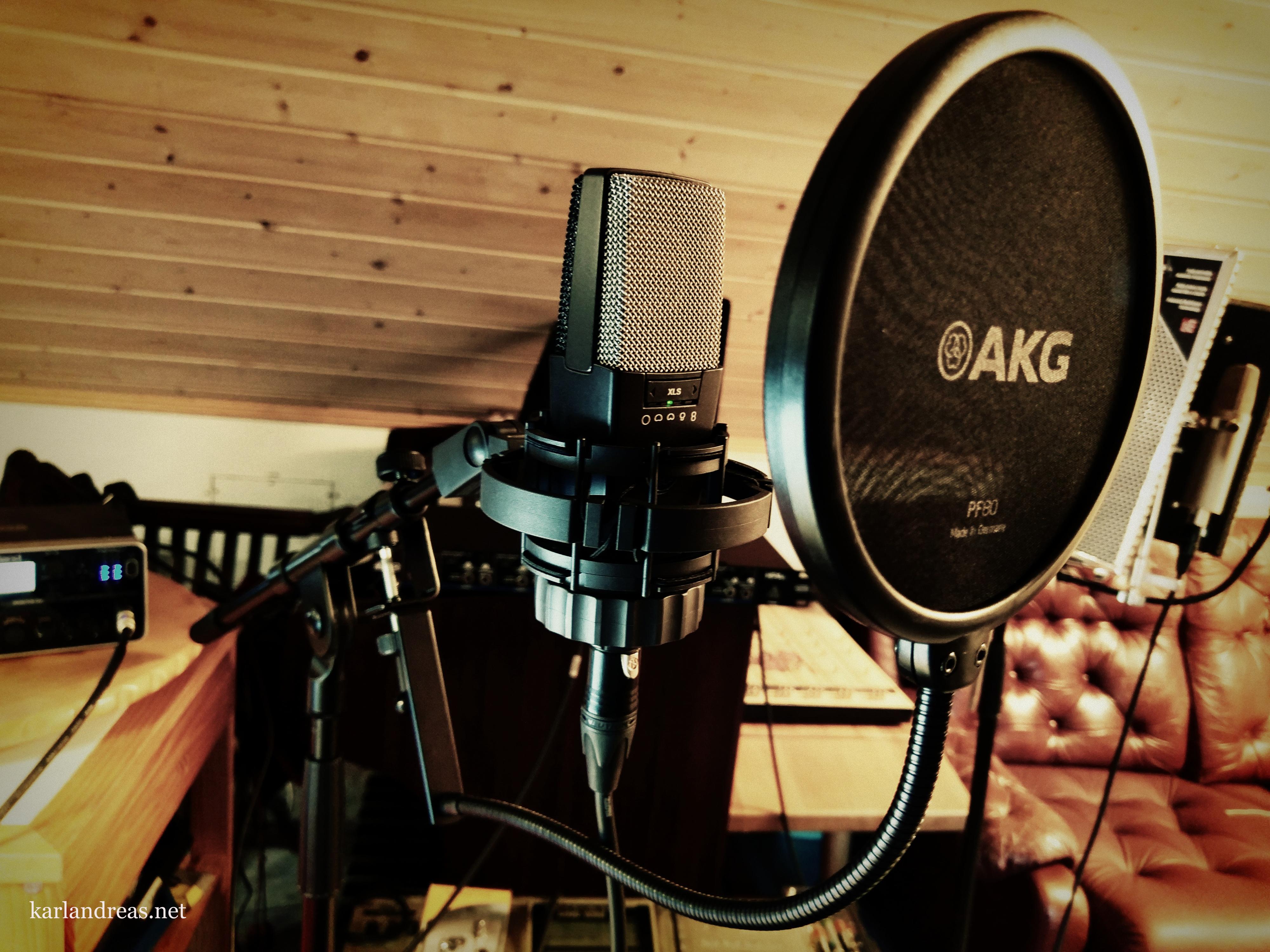 Ellertsen Studio - AKGc414 Kondensator