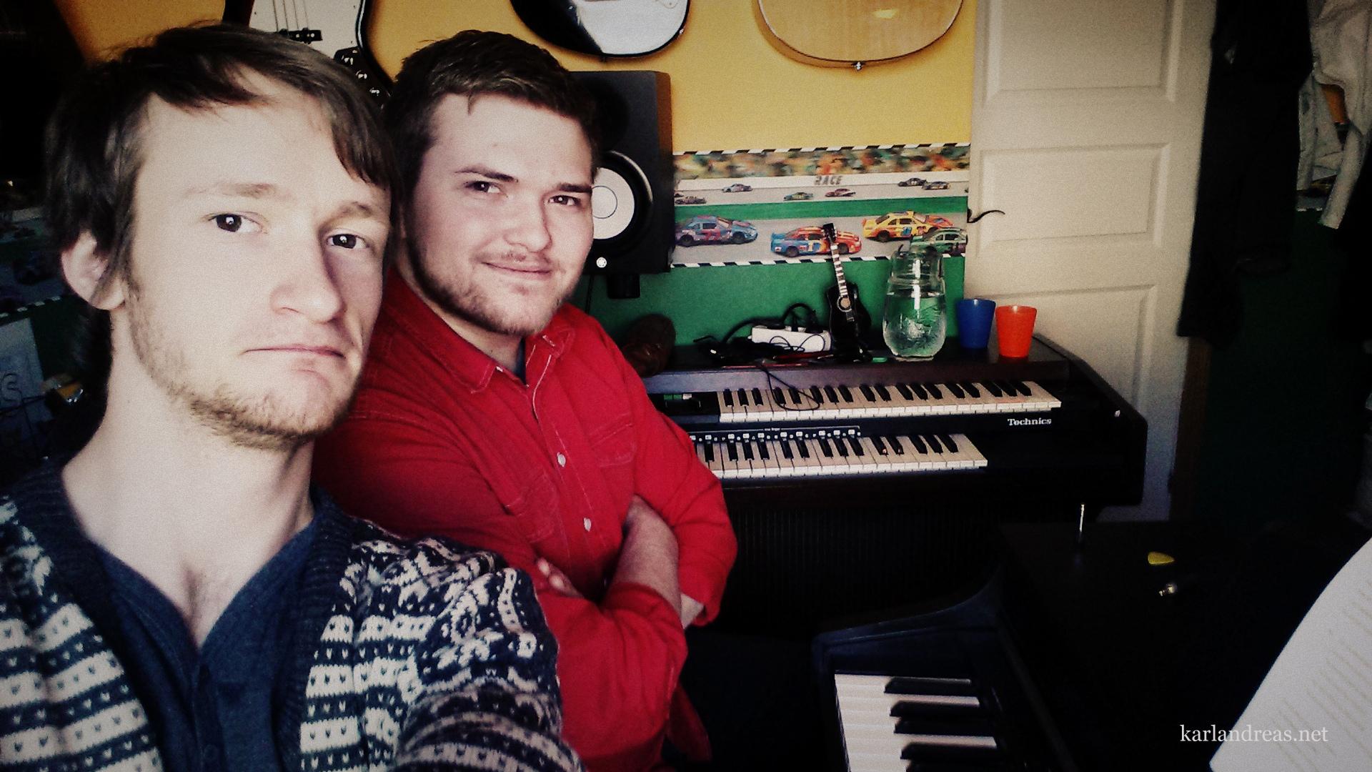 Olav & Karl Andreas - Studio i Olsvik 15