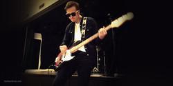 Nikolai med Jazz Bass - FHS 2016