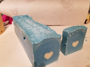 So excited! New soap made and curing!