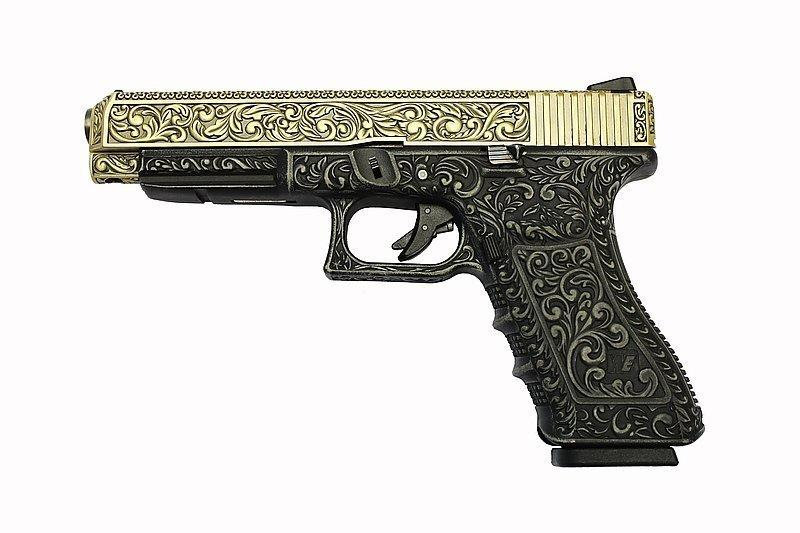 WE-Tech G34 Classical Relief Airsoft Pistol