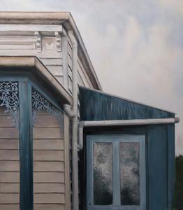 Her Blue Porch