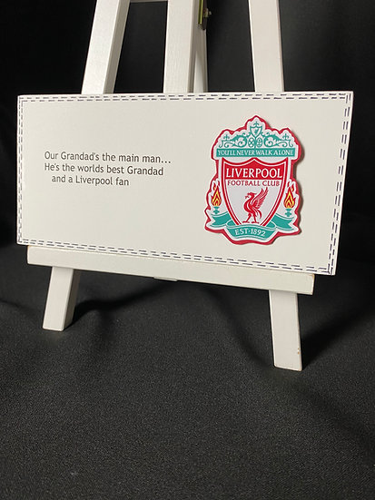 Football Plaque