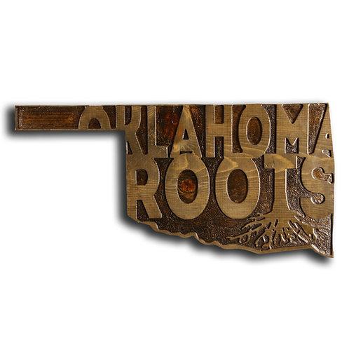 Oklahoma Roots Plaque