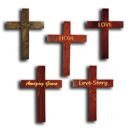 Assorted Crosses with Small Letters