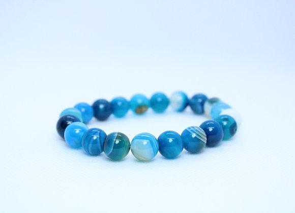 Blue Marble Healing Bracelet