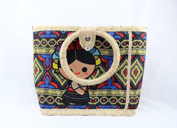 Large Woven Mexican Handbag