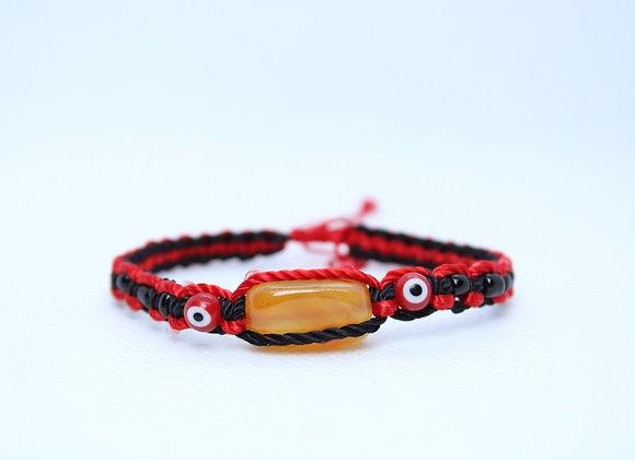 Citrine Red String Bracelet