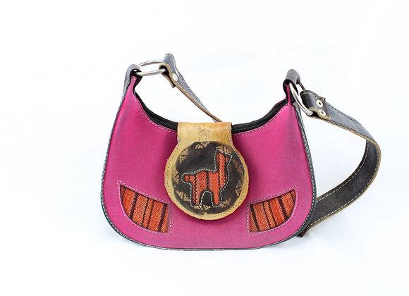Pink Llama Handbag