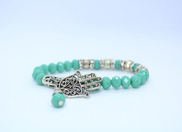 Turquoise Hamsa Bracelet