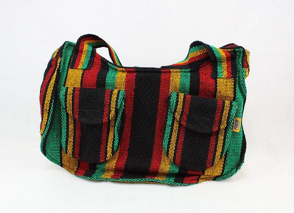 Cultural Handmade Handbag Red Yellow and Green