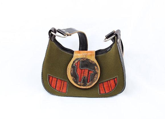 Green Llama Handbag