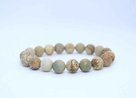Tan Marble Bracelet