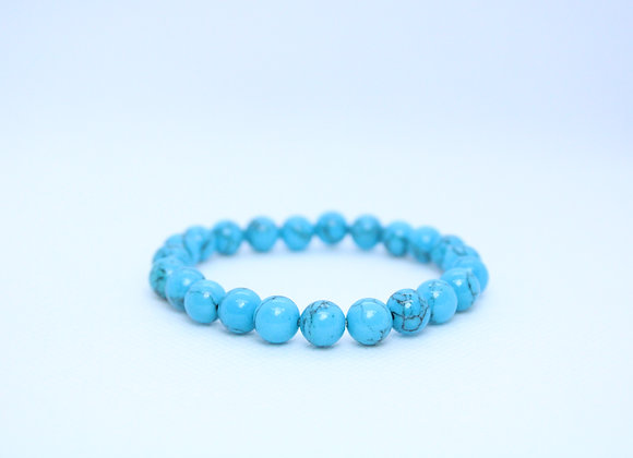 Light Blue Marble Healing Bracelet