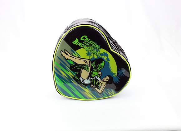 Creatures from the Black Lagoon Heart Shaped Bag