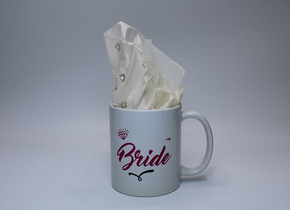 Bride mug (Barbie font)