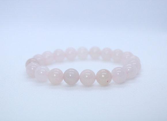 Shiny Rose Quartz Bracelet
