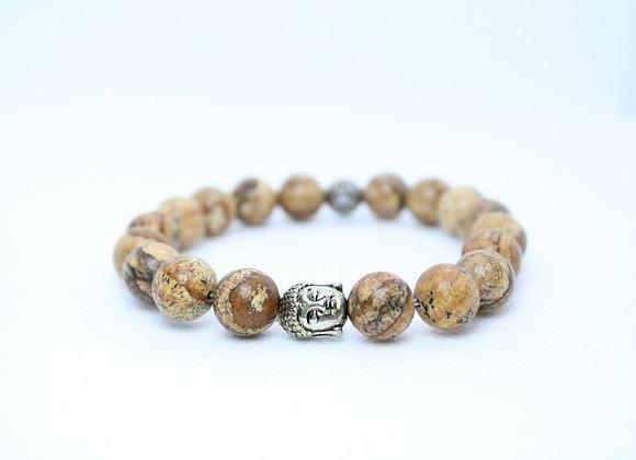 Tan Buddha Bracelet
