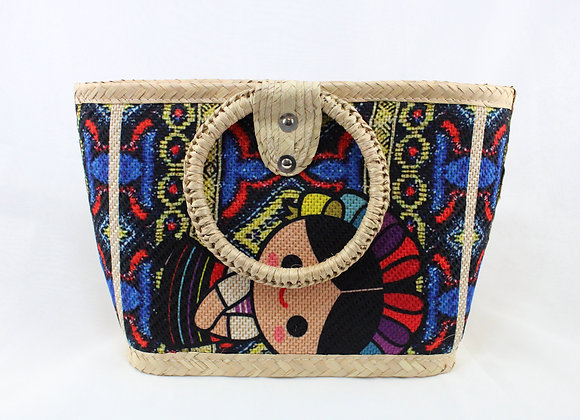 Medium Woven Mexican Handbag