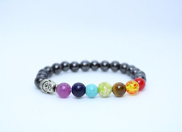 Buddha Chakra Healing Stone Bracelet