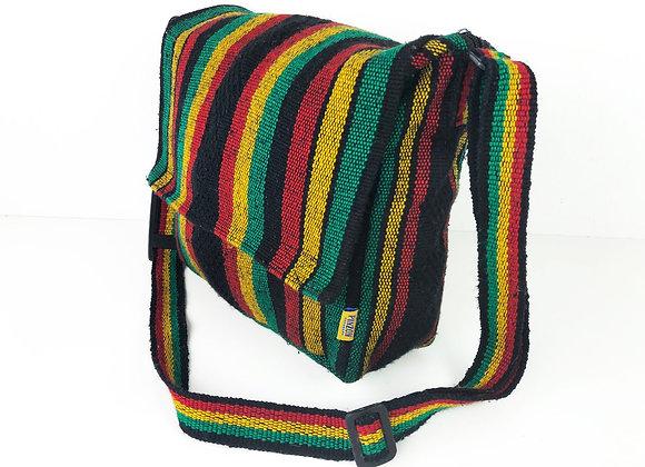 JAMAICAN STRIPED SHOULDER BAG BY PINZON