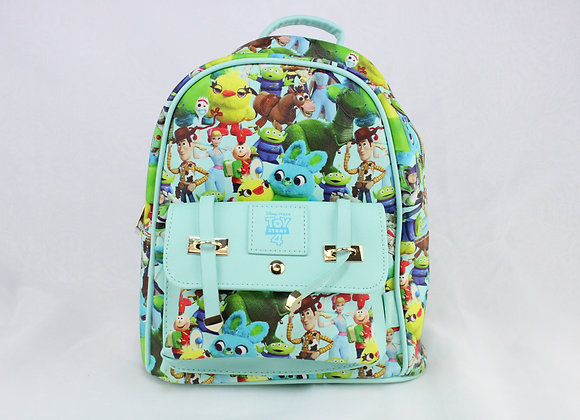 Green and Blue Toy Backpack