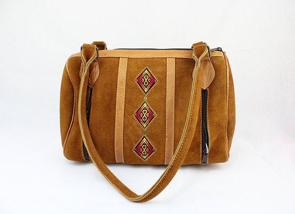 Caramel Cultural Handbag