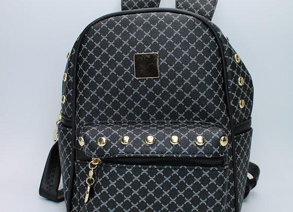 Black Mini Bunny Backpack
