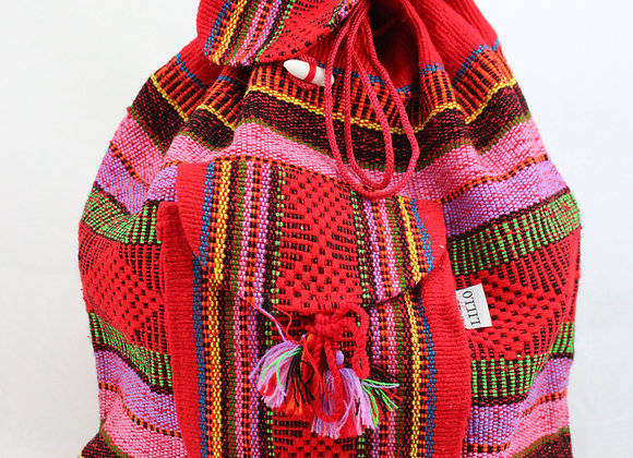 Red Mexican Woven Bag
