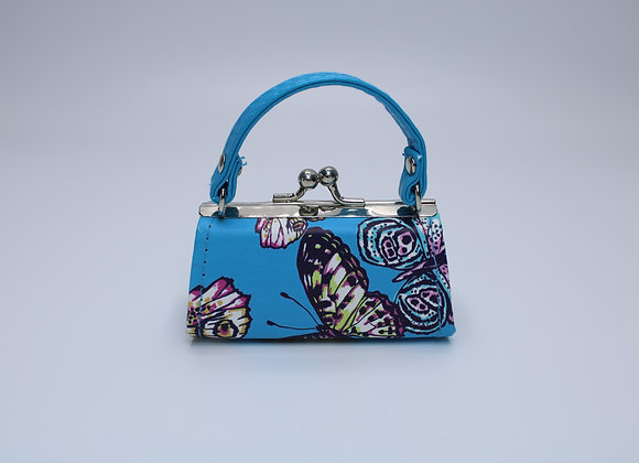 Blue X-Small Butterfly Bag