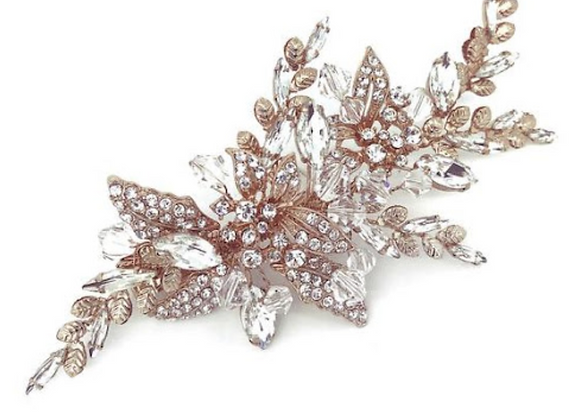 ROSE GOLD HEADPIECE AR56-1295-1