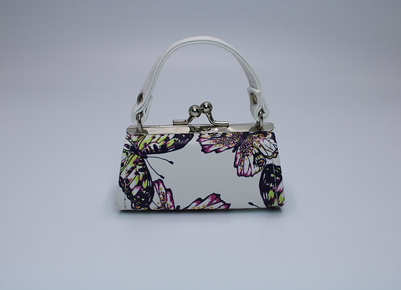 White X-Small Butterfly Bag