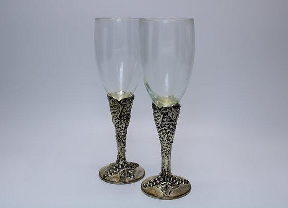 Grape design Champagne flute