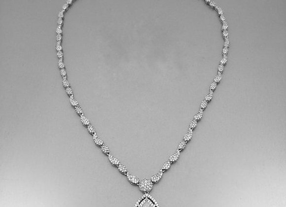 NECKLACE SILVER NK-S-03197