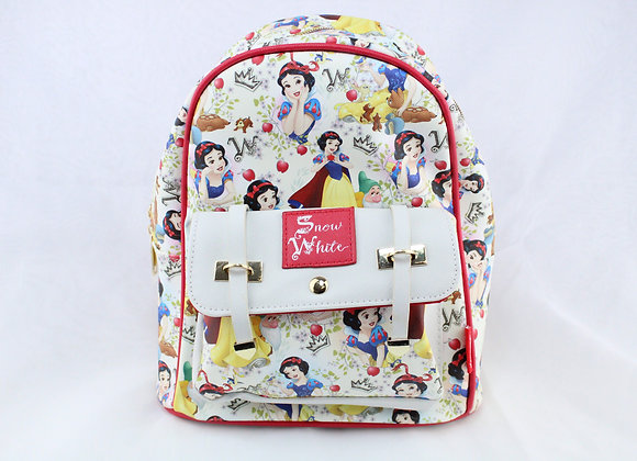 Red and White Princess Backpack