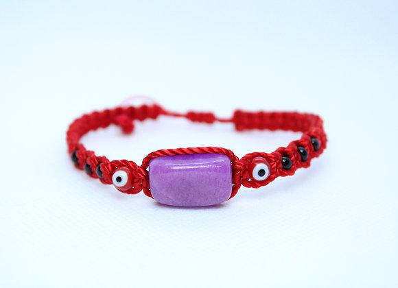 Purple Red String Bracelet