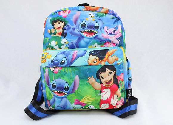 Small Lilo and Stitch Character Backpack