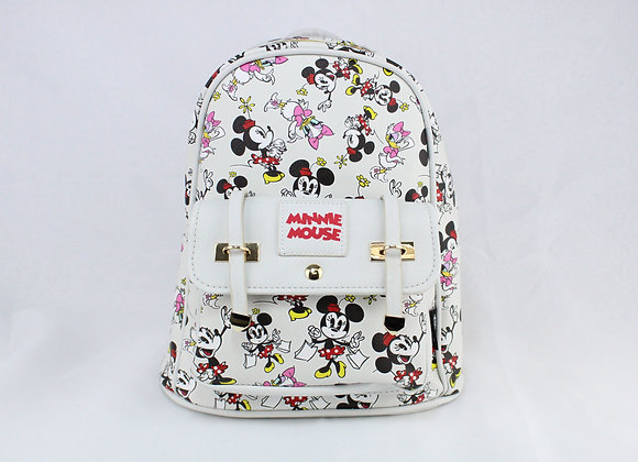 White Minnie Mouse Backpack