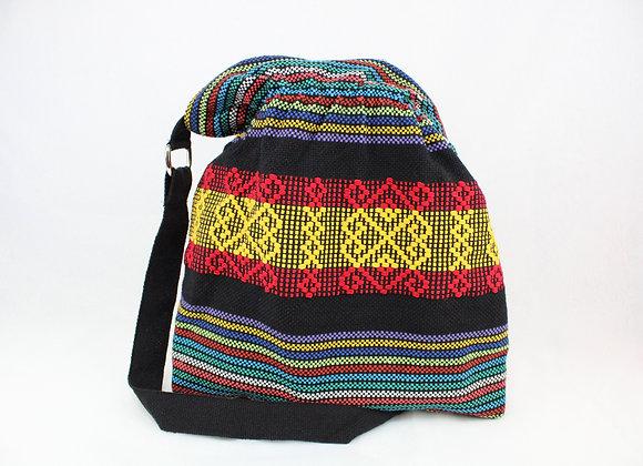 Cultural Woven Shoulder Tote Bag