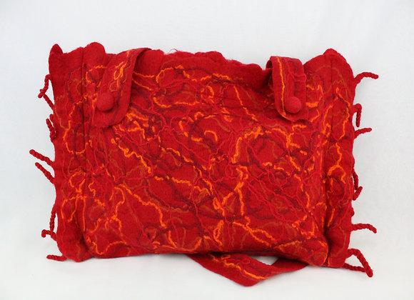Handmade Shoulder Bag from Nepal