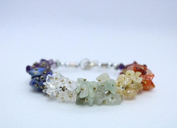 Small Multicolor Stones Bracelet