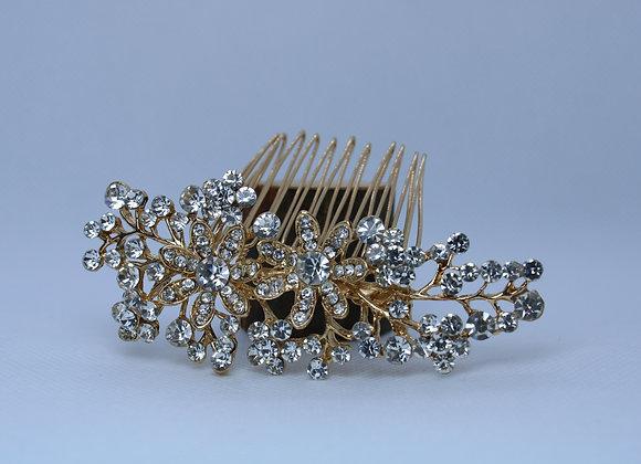 Gold Hair Accessory