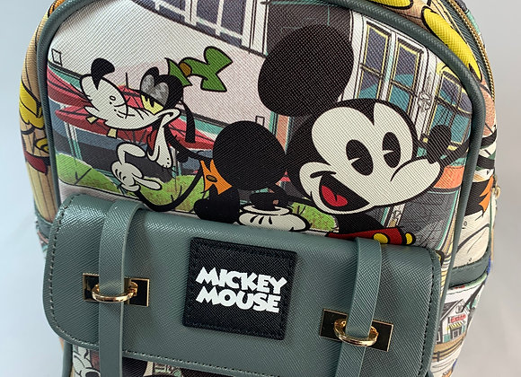 Mickey Mouse Character Backpack